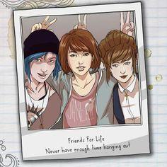 Life is Strange-Chloe,Max and Kate