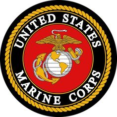 United States Marine Corps Logo Eagle Globe Anchor Edible Cake Topper – A Birthday Place
