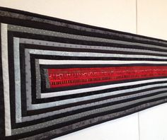 This article is about selling quilts at craft shows, but I love the photos. Great inspirations!