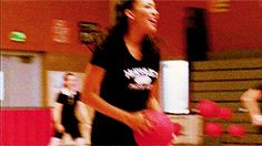 Naya Rivera and Lea Michele #gif