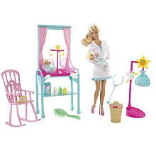 Barbie I Can Be Doll Playset - Newborn Baby Doctor I REALLY want this for the girls! Especially since our baby is in the hospital!