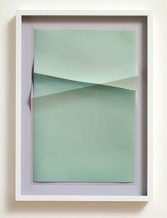 John Houck, Untitled 2 colours, (from Aggregates series), 2013 Wood Sculpture, Sculptures, Image Makers, Green Art, Texture Art, 2 Colours, Wall Art Decor, Composition, Contemporary Art