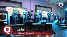 """La Sonora Santanera interpreta en la 7ma Entrega de Premios Q, su tema musical """"La Boa""""."""
