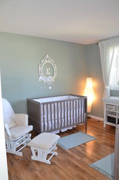 Project Nursery - Twin Nursery Monogrammed Wall