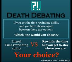 Death Debating #17 :: Websipedia : Think Sexy