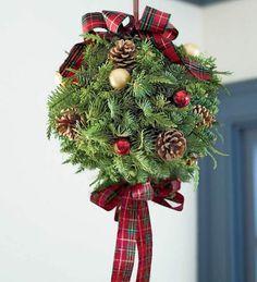 Weihnachtsdeko basteln für drinnen und draußen