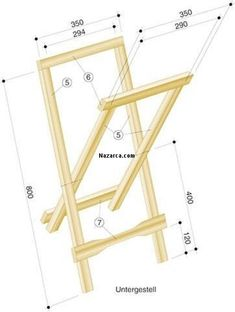 Woodworking Furniture, Woodworking Shop, Wood Furniture, Woodworking Plans, Woodworking Projects, Diy Wood Projects, Wood Crafts, Macrame Hanging Chair, Folding Beach Chair