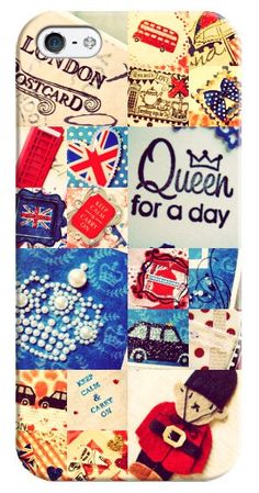A personal favourite from my Etsy shop https://www.etsy.com/listing/160125636/iphone-5-and-android-phones-cover-queen