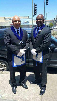 Worshipful Master and Warden Acacia Lodge #7 Oakland, CA.  PHA / G \