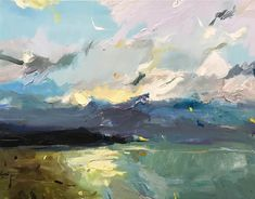"""""""Glow"""", 70X100cm, oil on linen #paint #gallery #abstractexpressionist #art #onlineart"""
