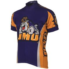 James Madison Dukes NCAA Road Cycling Jersey (Large)