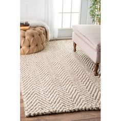 Found it at AllModern - Norcross Hand-Woven Tan Area Rug