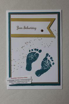 Stampin´Up!, Kreatives Muthaus, Muster-Glückwunsch-Karte 2 für ein Orthopädie-Fachgeschäft. Mehr unter: www.muthaus.jimdo.com