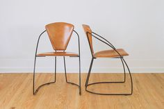 Vintage Minimalist Arrben Style Leather and by HomesteadSeattle, $495.00