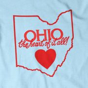 vintage Ohio 'the heart of it all' shirt! go buckeyes!