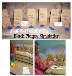 Middle Ages in the 1300s: Black Plague Simulation; Worksheets on the Crusades, Hundred Year's War - Homeschool Den