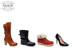 Pe www.asortie.ro găsiți numai încălțăminte din piele naturală, în numeroase modele atractive, la un raport calitate-preț foarte bun!