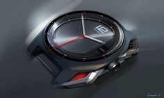 Peugeot Concept Watch TP001 - Design Sketch - Car Body Design