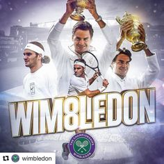 History is made! @rogerfederer  is #Wimbledon champion for the EIGHTH time
