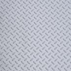Metallic Silver 5 ft. x 15 ft. Garage Floor Mat