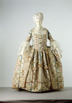 American Duchess:Historical Costuming: V191: Matchy - Or Not - Striped 18th Century Gowns | Historical Costuming and sewing of Rococo 18th century clothing, 16th century through 20th century, by designer Lauren Reeser