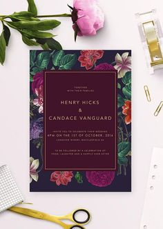 ♥ Navy and Marsala Botanical Wedding Invitations! Featuring a stunning floral design with wine and gold. { Marsala Burgundy Wedding Invitations Vintage Floral Wedding Invite Modern Dark Purple Navy Rose Pink Red Deep Green Flowers Wine Gold Maroon } Wedding Invitations by Sail and Swan Wedding Stationery Wedding Invites Wedding Invitation Suites Modern Wedding Invitation Floral Wedding Invitations Wedding Invitation Supplier Australia Stunning Beautiful Wedding Invitations Australia
