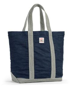 LOT-1145 The LC King Indigo Denim Tote was designed by combining details from our 100 years of workwear style and craft and applying them to a modern multi-use