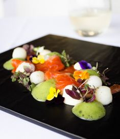 Gin Cured Ocean Trout - Smudge Eats Juniper Berry, Cafe Style, Ceviche, Sashimi, Seafood Dishes, Fennel, Trout, Gin, Recipe Ideas