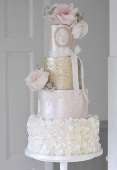 Indescribable Your Wedding Cakes Ideas. Exhilarating Your Wedding Cakes Ideas. Uk Wedding Cakes, Wedding Cake Fresh Flowers, Floral Wedding Cakes, Floral Cake, Beautiful Wedding Cakes, Wedding Cake Designs, Wedding Cake Toppers, Wedding Cake Knife And Server Set, Cotton And Crumbs