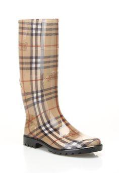 Burberry Check Rainboots in Haymarket - Beyond the Rack