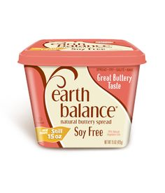 Earth Balance Buttery Spread - non-GMO This is what we've been using for over a year now and we really like it - just be sure to buy the Soy Free. Soy is on the No-Buy top GMO List.