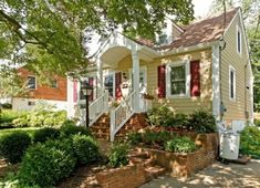 Great curb appeal on this cute little house!