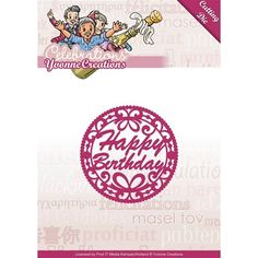 Boutique scrapbooking - Die BigShot Media Kampen die cadre happy birthday