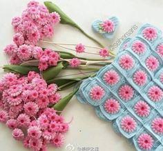 flores-de-croche-mini-flores.jpg (610×567)