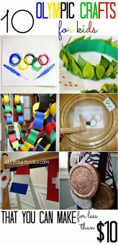 10 Olympics Crafts f