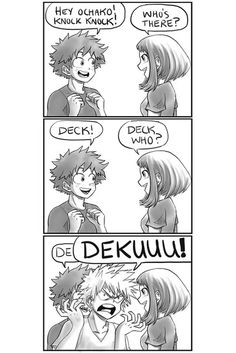 Dekuuuuuu!!!!! Why do you always have to ruined the moment kacchan