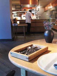 Kay Bojesen Grand Prix cultery at the Michelin restaurant Kadeau in Copenhagen. Danish Design, Cutlery, Grand Prix, Copenhagen, Restaurants, Conference Room, Furniture, Home Decor, Meeting Rooms