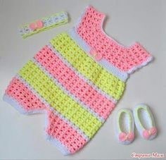 It is a website for handmade creations,with free patterns for croshet and knitting , in many techniques & designs. Crochet Baby Clothes, Baby Girl Crochet, Crochet For Kids, Free Crochet, Crochet Poncho, Crochet Hats, Vestidos Bebe Crochet, Kids Overalls, Bobble Stitch
