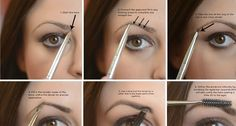 The Perfect Eyebrows : Step by Step