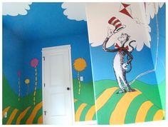 Dr. Seuss Trees | Dr Seuss Mural Trufula Trees smaller