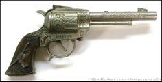 Leslie-Henry Gunsmoke Cap Gun Longhorn Pistol : Other Collectibles at GunBroker.com