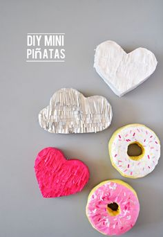 How to Make Mini Piñatas - A Little Craft In Your DayA Little Craft In Your Day