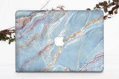 Blue Marble Macbook Pro 15 Case Marble Macbook Pro Retina 13 Macbook Pro 13, Macbook Air 13 Case, Marble Macbook Case, Leather Texture, Beautiful Textures, Design Case, Vibrant Colors, Etsy, Eco Friendly