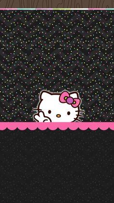 Plain Wallpaper Iphone, Hello Kitty Iphone Wallpaper, Hello Kitty Backgrounds, Pretty Phone Wallpaper, Cellphone Wallpaper, Cool Wallpaper, Wallpaper Backgrounds, Iphone Backgrounds, Screen Wallpaper