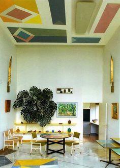 Plafonds zijn zo saai de laatste tijd...dit is van Gio Ponti