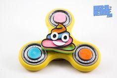 Rainbow Poop Emoji Fidget Spinner