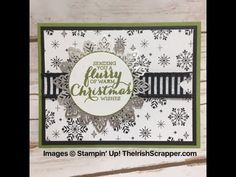 Stampin' Up! Flurry of Wishes Episode 216 - YouTube