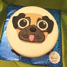 Image result for pastel de pug