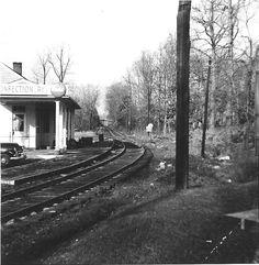 Ma and Pa Railroad Woodbrook Station on Charles near present day Stevenson Lane Harold Peas photo