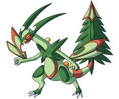 Sceptile and Flygon Fusion
